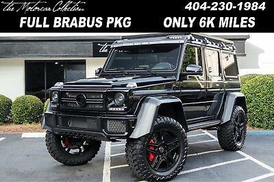 2017 Mercedes-Benz G-Class  Ultra Rare Upgraded 2017 Brabus 4x4 with Adventure Package, Clean CarFax