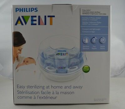 Philips AVENT Microwave Steam Sterilizer - 2 Pcs