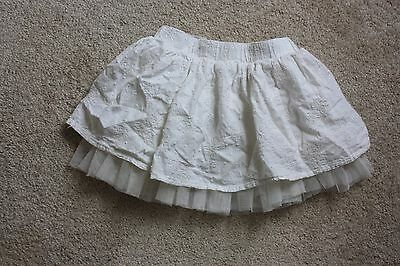 Genuine kids from Osh kosh Skirt Girls Embroidery with tulle size 3T