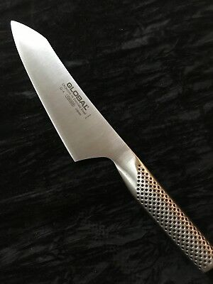 """Global G-4, Cromova 18,Forged Stainless Steel 7""""Asian chef knife, Made in Japan"""