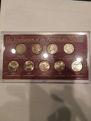 The evolution of the American nickel set