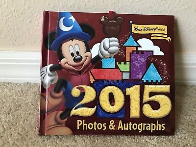Walt Disney World Official Parks Autograph and Photos Book 2015