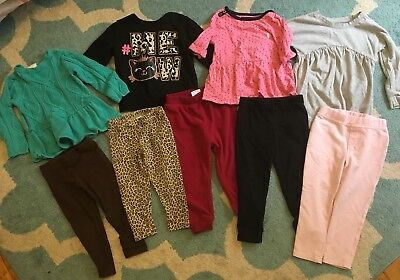 Lot Of Girls Clothes Size 2T Fall Winter