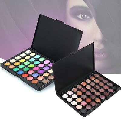40 Color Nude Eyeshadow Palette Mineral Matte Pigment Eye Shadow Waterproof