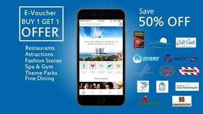 Dubai Entertainer 2019 Buy 1 Get 1 - Img World, Wild Wadi, Dubai Parks, Ferrari