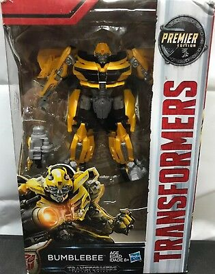 Premier Edition Transformers The Last Knight Deluxe Bumblebee FREE SHIPPING