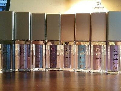 Stila Shimmer or Glitter & Glow Eye Shadow Assorted Colors Full Size New in Box