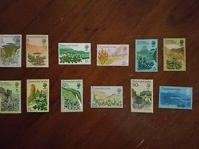 WPPhil Tristan Da Cunha Stamps Scott #162-173 Catalog Value $24.65 MNH