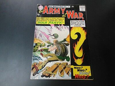 Our Army at War #151 Sgt Rock GD/VG 1st Enemy Ace DC Comics Key