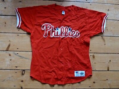 Philadelphia Phillies MLB Official Baseball Jersey Shirt size 48 (size large)