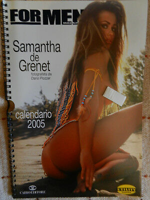 Calendario 2005 di Samantha De Grenet - For Men Magazine