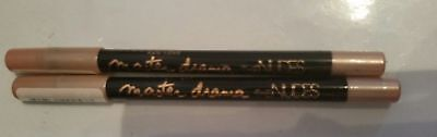 2 X Maybelline Master Drama - The Nudes Eye Pencil - 20 Rose Pearl  NEW