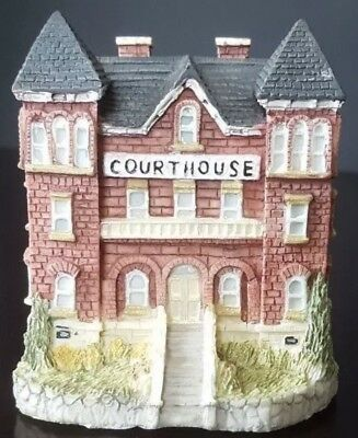 VINTAGE 1993 Liberty Falls Courthouse~Lawyer/Judge/Legal