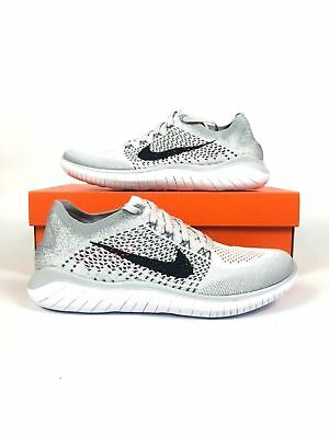 7fa76387569d Nike Free RN Flyknit 2018 Pure Platinum Men Running Shoes Sneakers 942838- 003