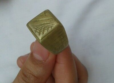 EXTREMELY Ancient VIKING BRONZE RING museum quality ARTIFACT RARE