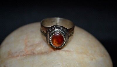 Rare Ancient VIKING SILVER Bronze RING 9-10 AD century ARTIFACT Magnificent RING