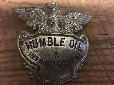 Humble Oil & Refining Company Badge