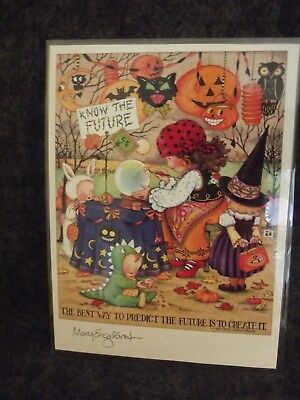 Mary Engelbreit Halloween The Best Way to Predict Future -Laminated Print