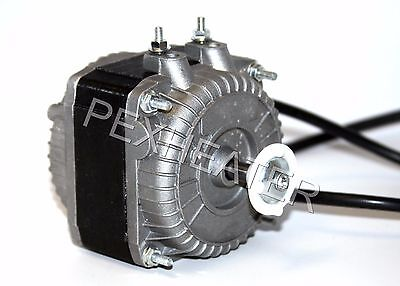 Shaded Pole Square Fan Motor 1450 RPM 5W 115V For Evaporator & Condenser