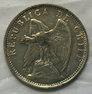 Chile 1927 Peso High Grade