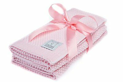 Elimeli Baby Blanket 100 Pure Merino Wool Perfect for Babies in Gift Wrapping
