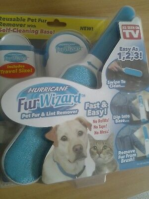 Hurricane Fur Wizard - Original Product As Seen On Tv