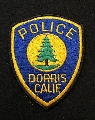 Dorris California Police Patch  - Sheriff Very Old