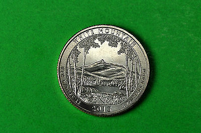2013-D  BU Mint State (White Mountain)  US National Park Quarter