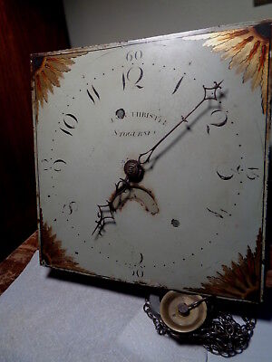 Antique--Grandfather Clock Movement-Ca.1820-To Restore-#P604