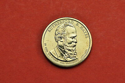 2011-D BU Mint State( Rutherford B Hayes) US Presidential One Dollar Coin