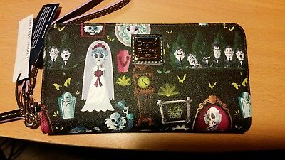 Disney Haunted Mansion Dooney & Bourke Wallet In Hand Perfect Placement