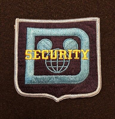 Disney Security Police Patch  - Sheriff Very Old EARLY ISSUE RARE Original