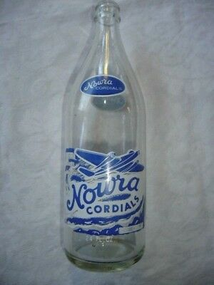 Pyro/ceramic Lable Nowra Cordial Bottle