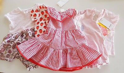 Baby girl clothes, Seed, Purebaby Size 00, 3-6mths