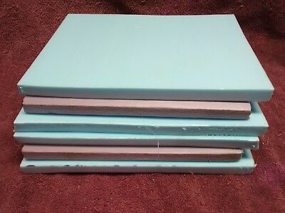 "Lot Six Pcs Super Dense 1/2"" Thick XPS Foam Board (Styrofoam) Modeling Dioramas"