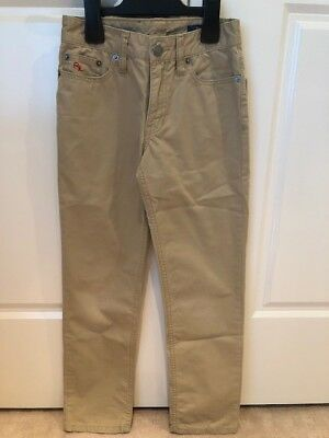 *GENUINE* Polo Ralph Lauren Boys Beige Chinos/Pants size 8...EXC COND!!