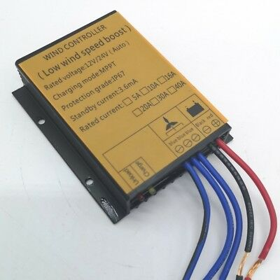 WIND MPPT CHARGE CONTROLLER 12/24V auto switch 400W