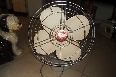 Vintage 4 blade MISTRAL Fan in good working condition