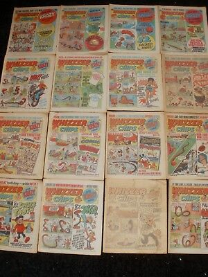Whizzer And Chips Comics April - August 1978 ( 16 Issues )