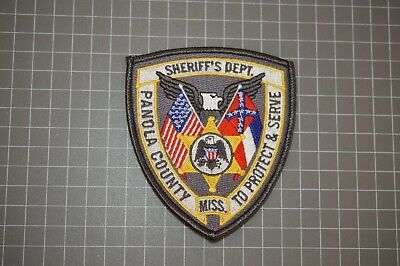 Panola County Mississippi Sheriff's Department Patch (B17-Q)