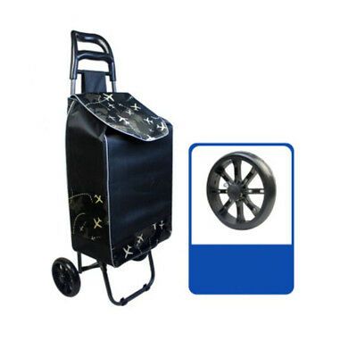 D200 Rugged Aluminium Luggage Trolley Hand Truck Folding Foldable Shopping Cart