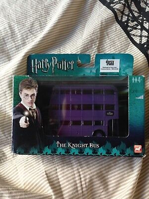 Harry Potter The Knight Bus Diecast Metal Collectable