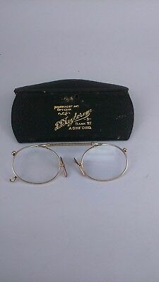 Antique 9ct 9k Gold Spectacles Nose Pinch Glasses, offers considered