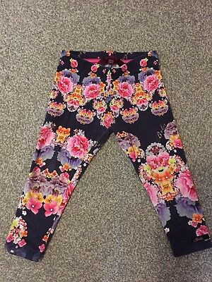 Baby Toddler Girls Floral Ted Baker Leggings Trousers Age 18-24 Months
