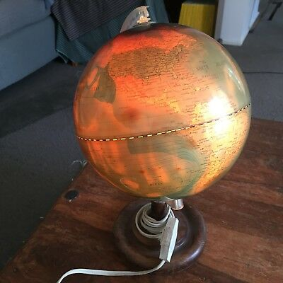 Table light  with world map