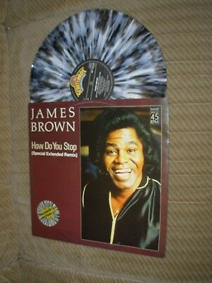 James Brown-How do You Stop,coloured Vinyl,Maxi 1986