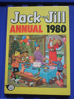 Jack And Jill 1980  Annual Vintage Children's Book Childs