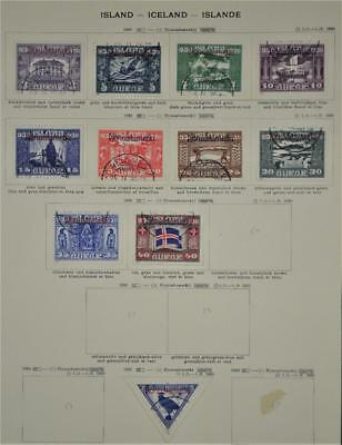 Iceland 11  Stamps  1930    (S16)