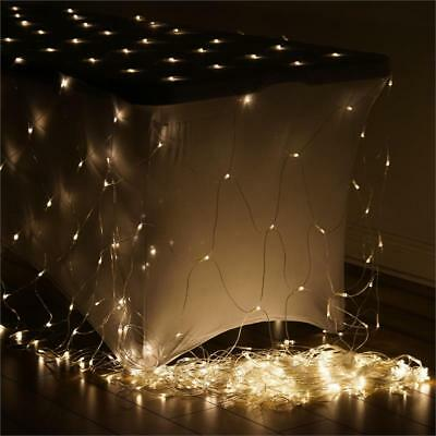 20 ft x 10 ft Clear LED Lights BACKDROP Wedding Party Ceremony Decorations SALE
