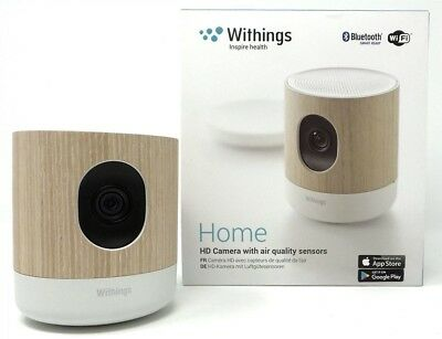 Withings/Nokia Home HD Camera Baby Monitor : Camera, Veilleuse, Qualité de l'air